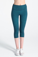 A61Y1309 / FLATTERING high-waisted side panelled leggings