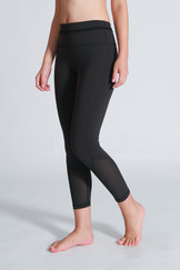 A71Y1310 / Standing sheer ankle length leggings
